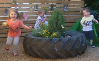 Playtime at Dartmouth Pre-school