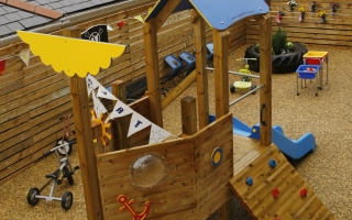 The Pirate Ship at Dartmouth Pre-school